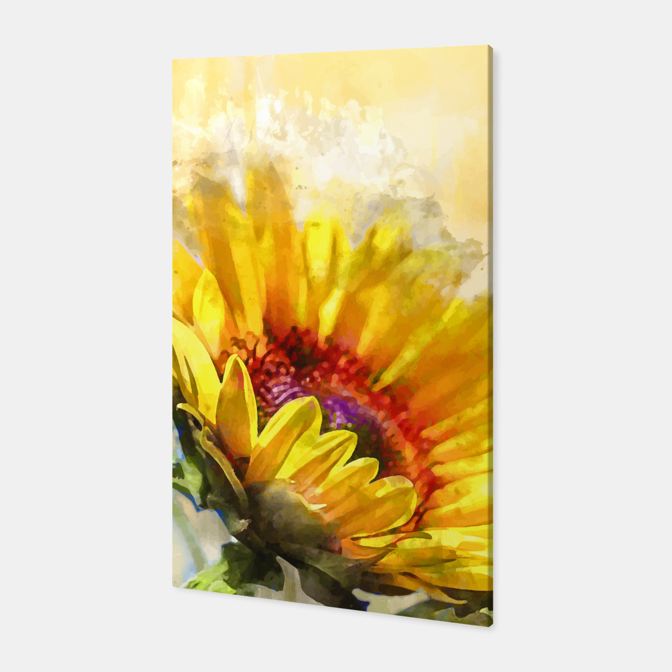 Image of Blossom Sunny Canvas - Live Heroes