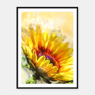 Thumbnail image of Blossom Sunny Framed poster, Live Heroes
