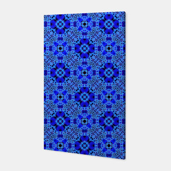 Thumbnail image of Blue Mandala Pattern Canvas, Live Heroes