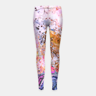 Miniatur Resist Girl's leggings, Live Heroes