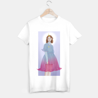 Thumbnail image of Blue Unicorn Girl T-shirt regular, Live Heroes