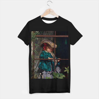 Thumbnail image of No Walk Today by Sophie Gengembre Anderson T-shirt regular, Live Heroes
