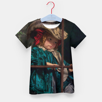 Thumbnail image of No Walk Today by Sophie Gengembre Anderson Kid's t-shirt, Live Heroes
