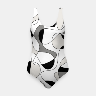 Miniature de image de Abstract pattern - gray, black and white. Swimsuit, Live Heroes