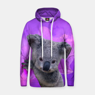 Thumbnail image of Koala and Orchid Hoodie, Live Heroes