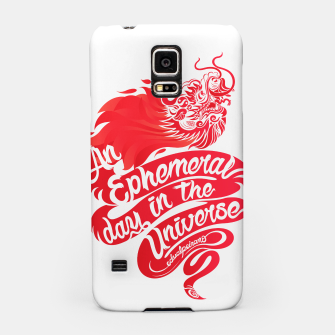 Miniaturka An Ephemeral Day In The Universe by #edualpeirano Samsung Case, Live Heroes