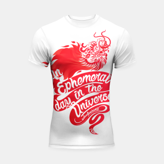 Miniaturka An Ephemeral Day In The Universe by #edualpeirano Shortsleeve rashguard, Live Heroes