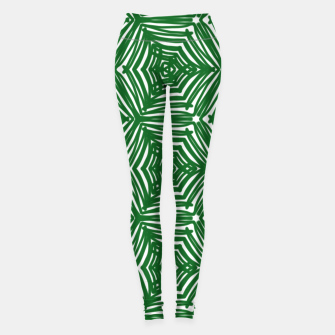 Miniature de image de Love green 01 Leggings, Live Heroes