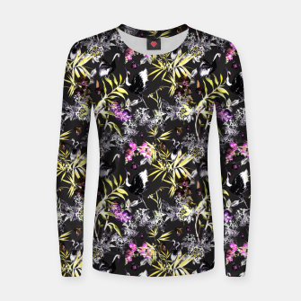 Miniature de image de Dark asian abstract Sudadera para mujeres, Live Heroes
