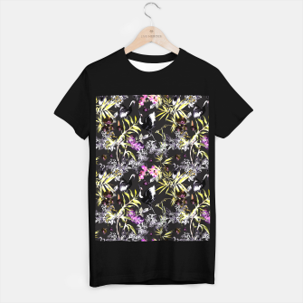 Miniature de image de Dark asian abstract Camiseta Regular, Live Heroes