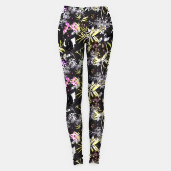 Miniature de image de Dark asian abstract Leggings, Live Heroes
