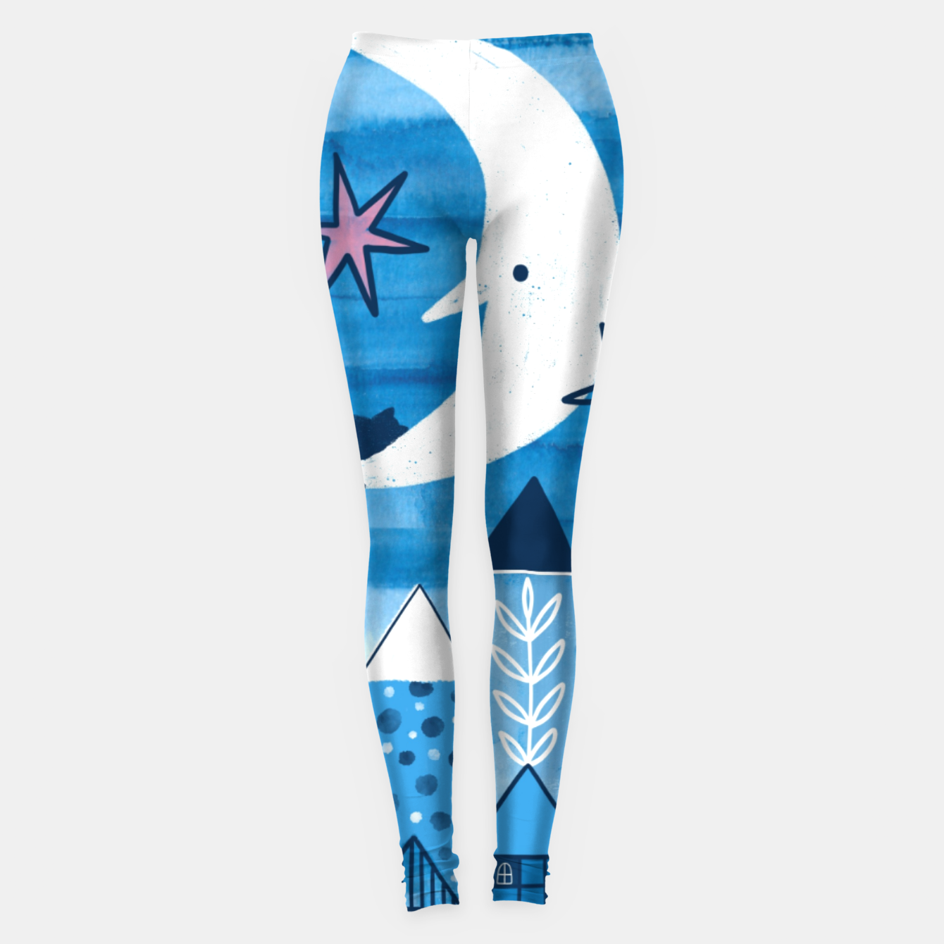 Zdjęcie Night in the city Leggings - Live Heroes