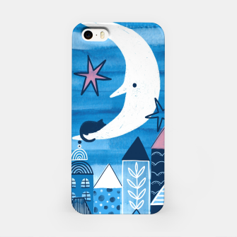 Night in the city iPhone Case obraz miniatury