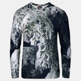 Thumbnail image of thuja brabant in the snow Bluza unisex, Live Heroes