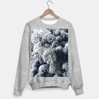 Thumbnail image of thuja brabant in the snow Bluza standard, Live Heroes