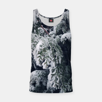 Thumbnail image of thuja brabant in the snow Tank Top, Live Heroes