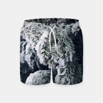 Thumbnail image of thuja brabant in the snow Szorty kąpielowe, Live Heroes