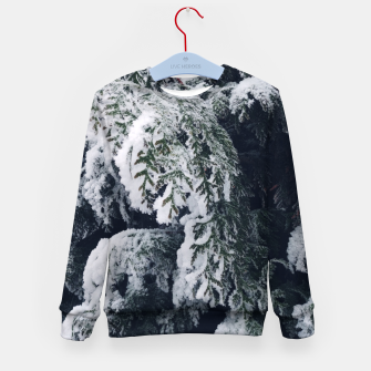 Thumbnail image of thuja brabant in the snow Bluza dziecięca, Live Heroes