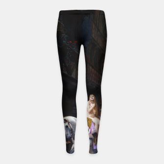 Thumbnail image of Lady Godiva by Jules Joseph Lefebvre Girl's leggings, Live Heroes