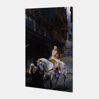 Thumbnail image of Lady Godiva by Jules Joseph Lefebvre Canvas, Live Heroes