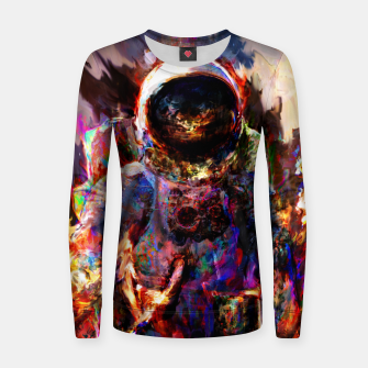 Thumbnail image of astronaut Women sweater, Live Heroes