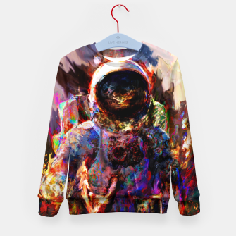 Thumbnail image of astronaut Kid's sweater, Live Heroes
