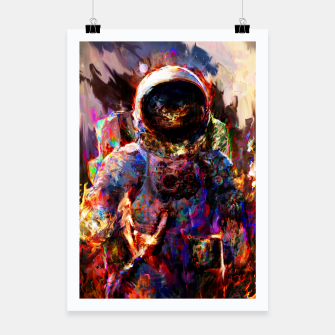 Thumbnail image of astronaut Poster, Live Heroes
