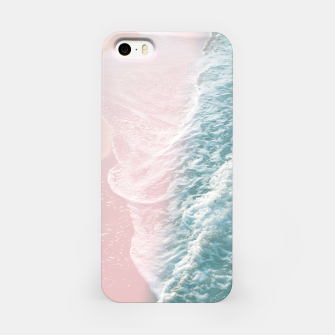 Thumbnail image of Soft Teal Blush Ocean Dream Waves #1 #water #decor #art iPhone-Hülle, Live Heroes