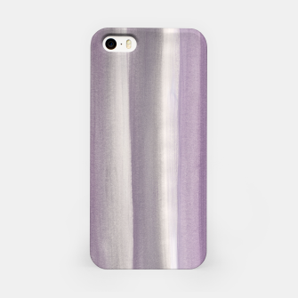 Miniaturka Purple Gray Watercolor Dream #1 #painting #decor #art iPhone-Hülle, Live Heroes