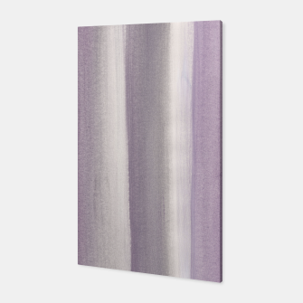 Miniaturka Purple Gray Watercolor Dream #1 #painting #decor #art Canvas, Live Heroes