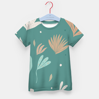 Thumbnail image of Underwater Leaves Jungle #2 #kids #decor #art  T-Shirt für kinder, Live Heroes