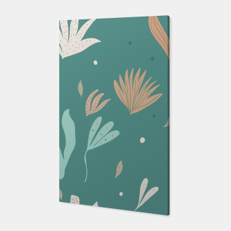 Thumbnail image of Underwater Leaves Jungle #2 #kids #decor #art  Canvas, Live Heroes