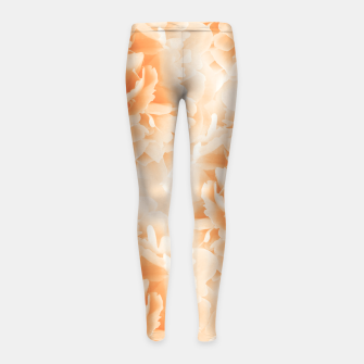 Miniature de image de Orange Peonies Dream #1 #floral #decor #art Kinder-Leggins, Live Heroes
