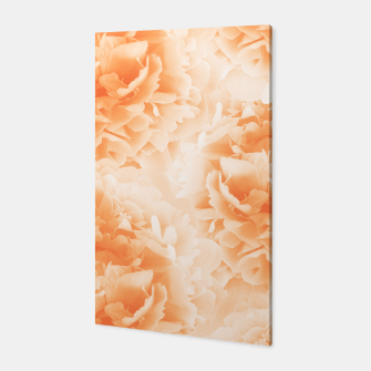 Miniature de image de Orange Peonies Dream #1 #floral #decor #art Canvas, Live Heroes