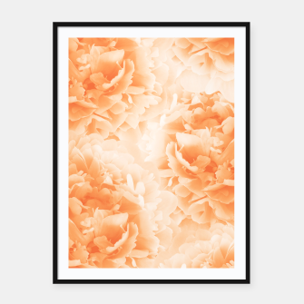 Miniature de image de Orange Peonies Dream #1 #floral #decor #art Plakat mit rahmen, Live Heroes