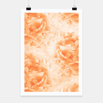 Miniature de image de Orange Peonies Dream #1 #floral #decor #art Plakat, Live Heroes