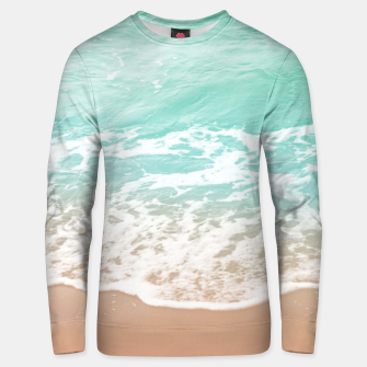 Miniature de image de Soft Emerald Beige Ocean Beauty Dream #1 #wall #decor #art  Unisex sweatshirt, Live Heroes