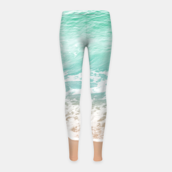 Miniature de image de Soft Emerald Beige Ocean Beauty Dream #1 #wall #decor #art  Kinder-Leggins, Live Heroes