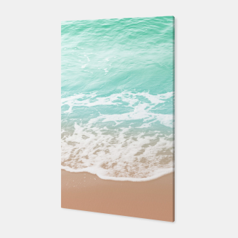 Miniature de image de Soft Emerald Beige Ocean Beauty Dream #1 #wall #decor #art  Canvas, Live Heroes