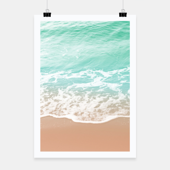 Miniature de image de Soft Emerald Beige Ocean Beauty Dream #1 #wall #decor #art  Plakat, Live Heroes