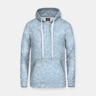 Silky Waves of the Boundless Blue Sea Hoodie Bild der Miniatur