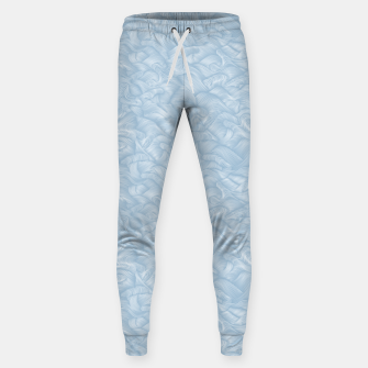 Silky Waves of the Boundless Blue Sea Sweatpants Bild der Miniatur