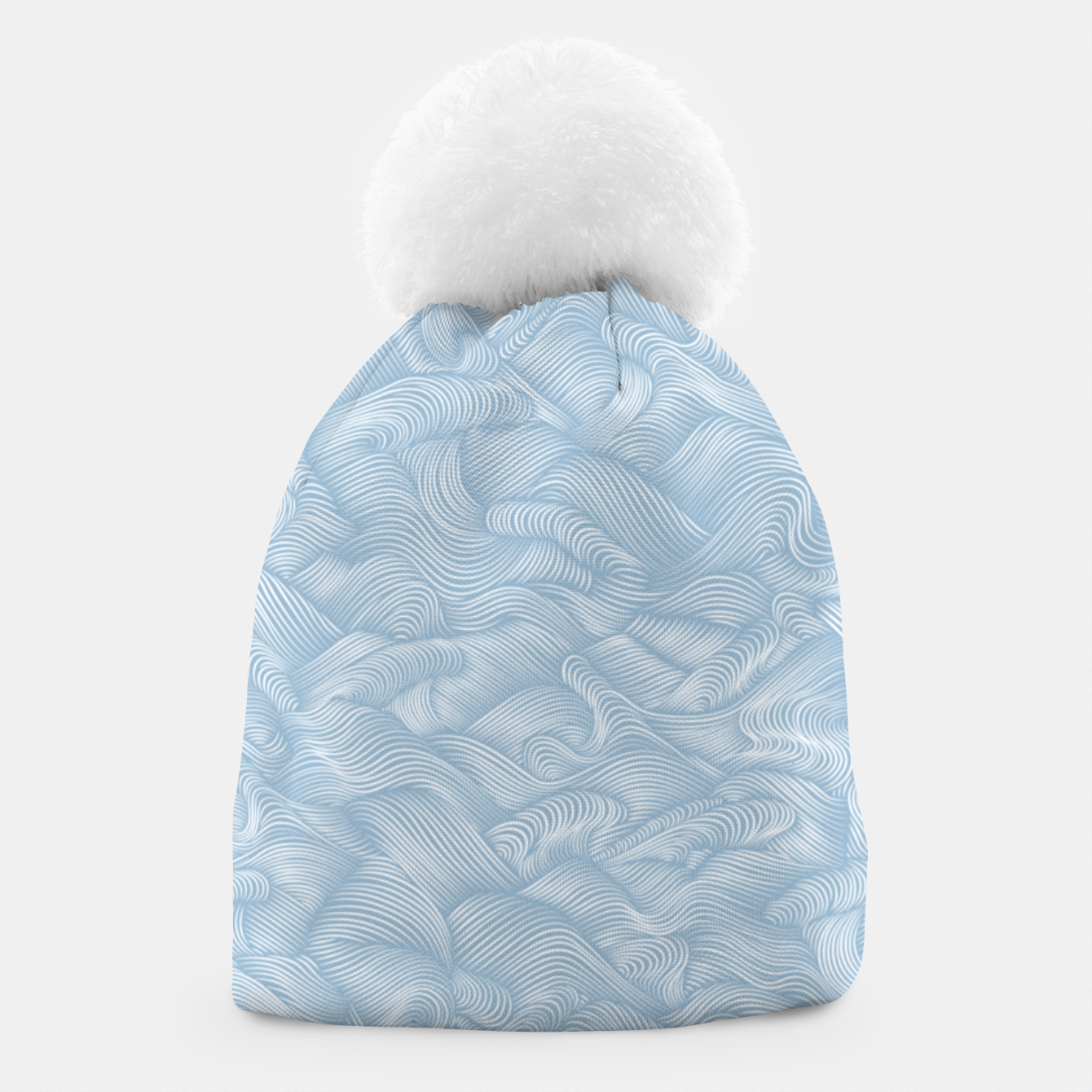 Foto Silky Waves of the Boundless Blue Sea Beanie - Live Heroes