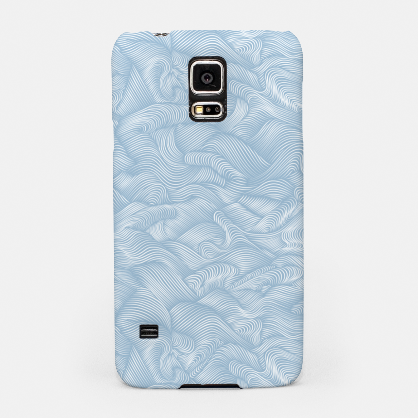 Foto Silky Waves of the Boundless Blue Sea Samsung Case - Live Heroes