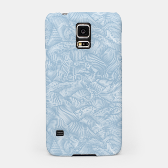 Silky Waves of the Boundless Blue Sea Samsung Case Bild der Miniatur