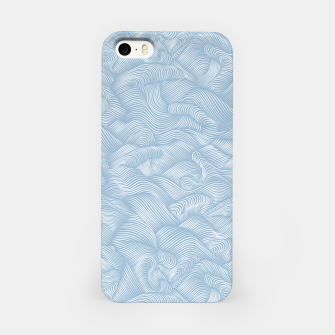 Silky Waves of the Boundless Blue Sea iPhone Case Bild der Miniatur