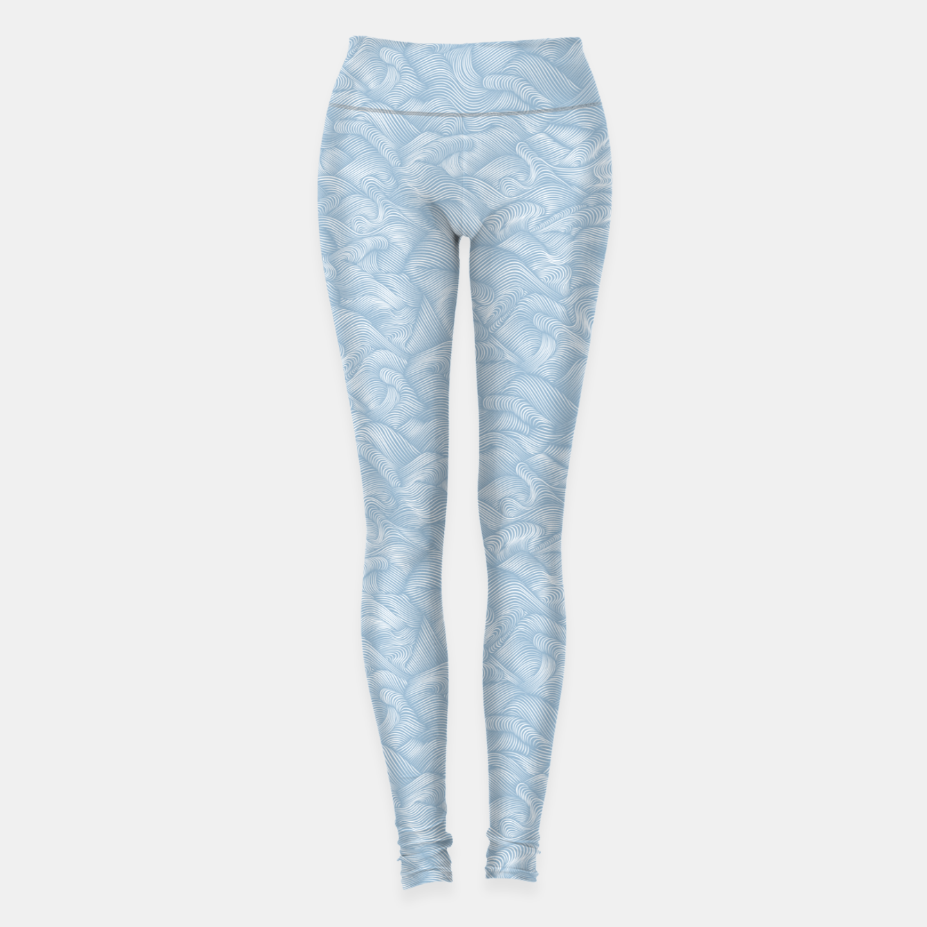 Foto Silky Waves of the Boundless Blue Sea Leggings - Live Heroes