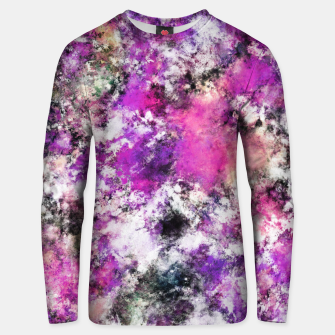 Thumbnail image of Reflecting the purple water Unisex sweater, Live Heroes