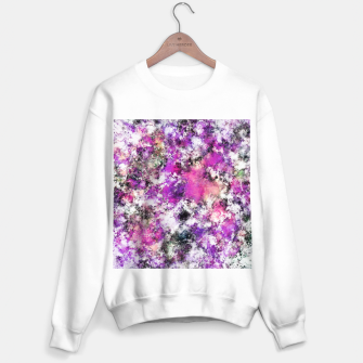 Thumbnail image of Reflecting the purple water Sweater regular, Live Heroes