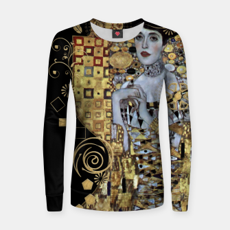 Thumbnail image of Adele Klimt  Women sweater, Live Heroes